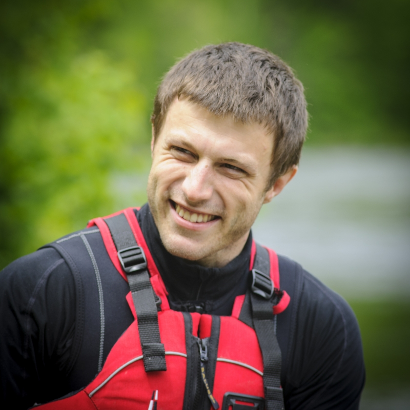 Dominic Leblanc, guide - Arpin Canoe Restigouche